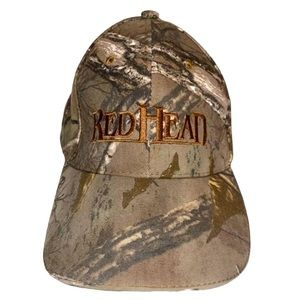 Redhead Camo hunting hat with high beam light